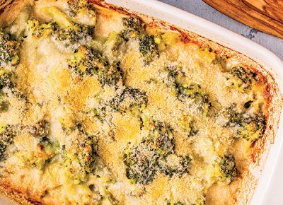 Gratin di broccolo fioretto