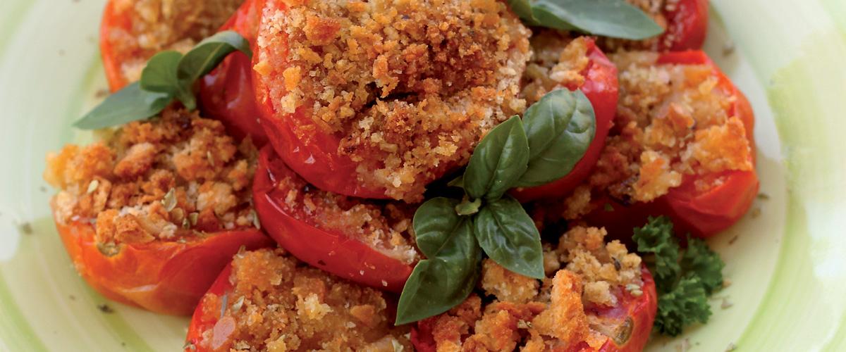 Pomodori ripieni gratinati al forno